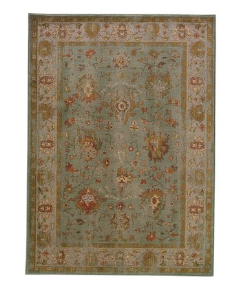 Blue Border Intermezzo Rug