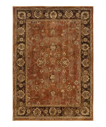 Orange Border Intermezzo Rug