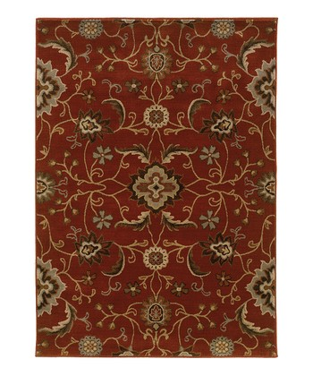 Red Vine Intermezzo Rug