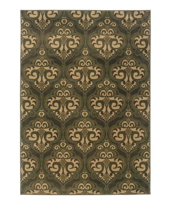 Green & Beige Chesapeake Rug