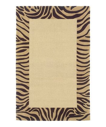 Beige & Yellow Tiger Artemis Rug