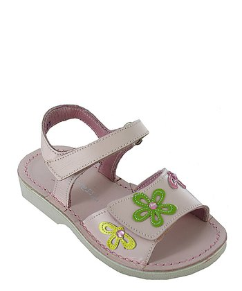 Pink Sharpay Leather Sandal