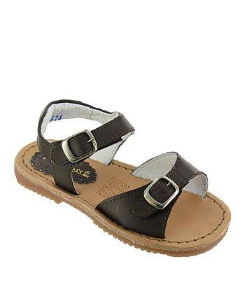 Dark Brown Ireland Leather Sandal