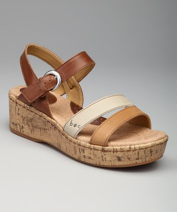 Saddle Frida Sandal