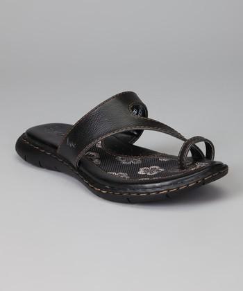 Black Laurina Sandal