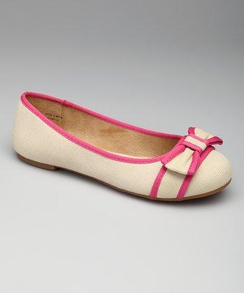 Natural & Pink Lee Lee Flat