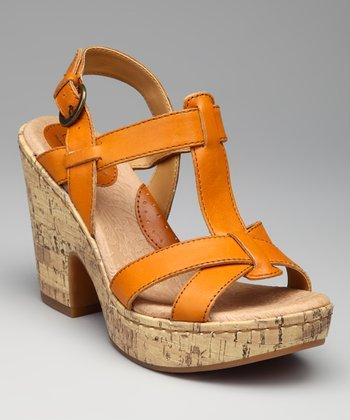 Tangerine Sallyanne Sandal