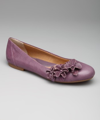 Plum Purple Shailene Flat