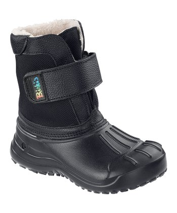 Black Fun Birki Boot - Kids
