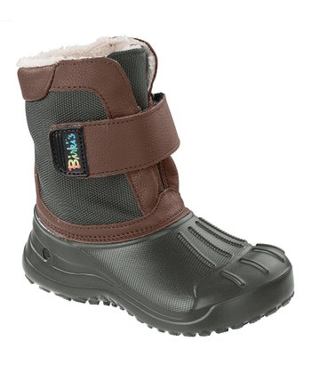 Brown Fun Birki Boot  - Kids