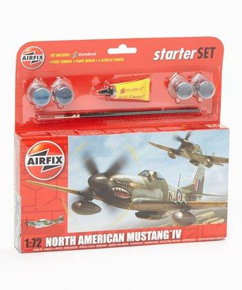 North American P-51D Mustang Model Plane Kit