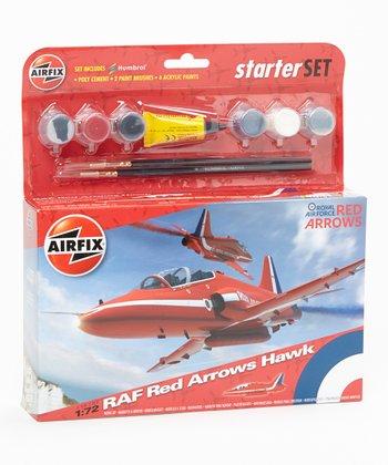RAF Red Arrows Hawk Model Plane Kit