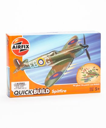 Quick Build Supermarine Spitfire Model Plane Kit