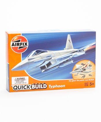 Quick Build Eurofighter Typhoon Model Plane Kit