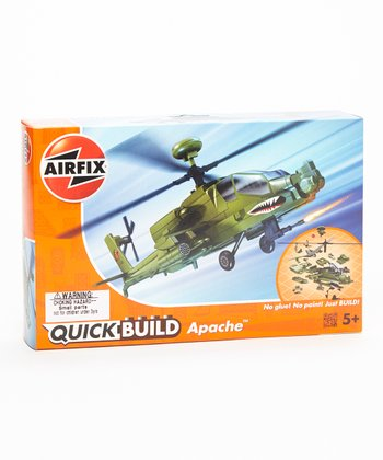 Quick Build Apache Model Helicopter Kit