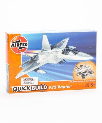Quick Build F-22 Raptor Model Plane Kit