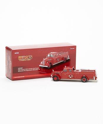 Milwaukee Canopy Cab Pumper Model Truck