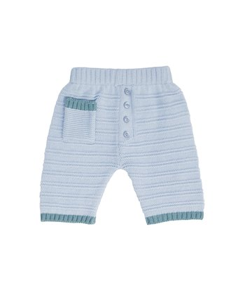 Cornflower Stripe Knit Pants - Infant & Toddler