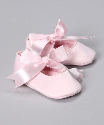 Pink Satin Ballet Slippers