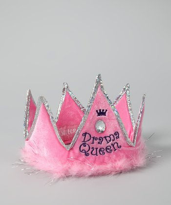 Pink Drama Queen Hat - Kids