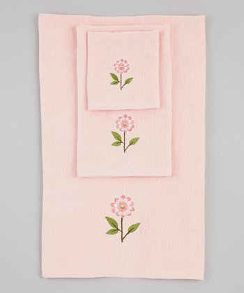 Rose Bella Towel Set