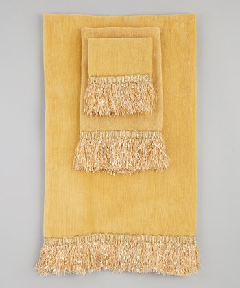Gold Bordeaux Towel Set