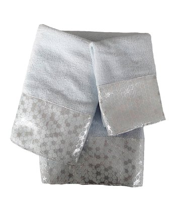 Spa Blue Moonlight Towel Set