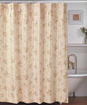 Rose Penny Shower Curtain