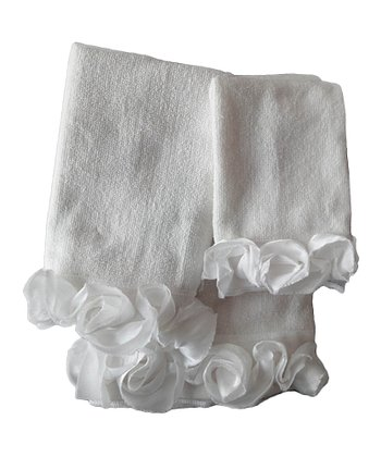 Ivory Romance Towel Set