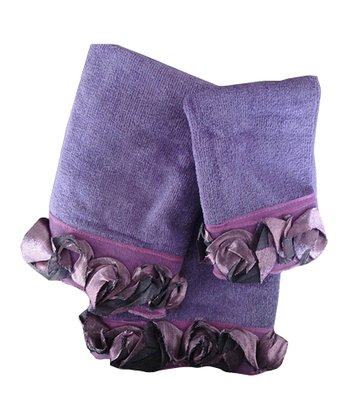 Purple Romance Towel Set