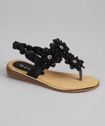 Black Surise Sandal