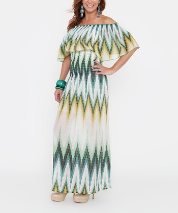 Meadow Shirred Maternity Maxi Dress