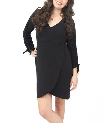 Black Zoe All Seasons Maternity Dress
