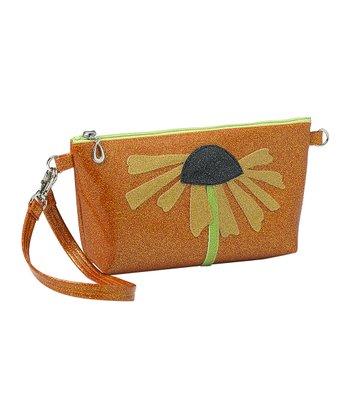 glittersweet Tan & Tangerine Daisy Purselet