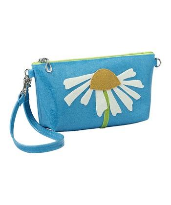 glittersweet Blue Daisy Purselet