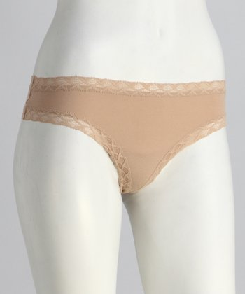 Café Lace Trim Bliss Thong