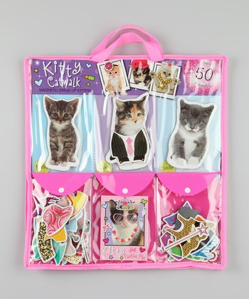 Kitty Catwalk Magnetic Dress-Up Kit