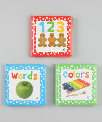 Busy Baby Dotted Books Board Book Set