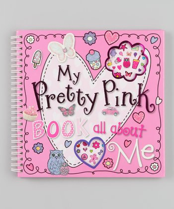 My Pretty Pink Book All About Me Spiral Activity Book