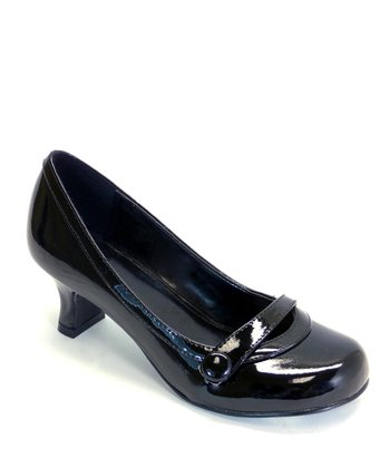 Black Patent Del Dress Shoe