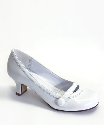 White Patent Del Dress Shoe