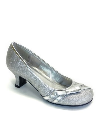 Silver Glitter Harve Dress Shoe