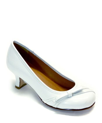 White Patent Harve Dress Shoe