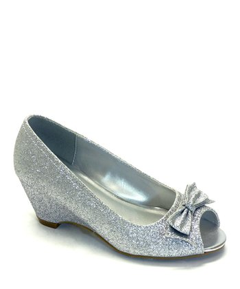 Silver Glitter Maybe Dress Shoe