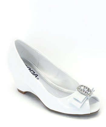 White Patent Sicily Dress Shoe