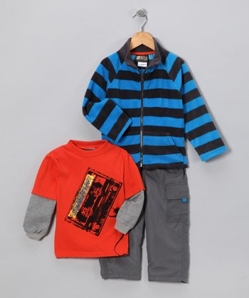 Orange & Blue Remix Set - Toddler & Boys
