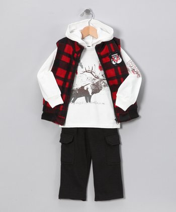 Red & Black Park Set - Toddler & Boys