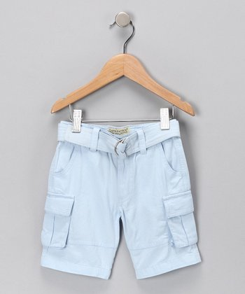 Sky Organic Cargo Shorts - Infant, Toddler & Kids