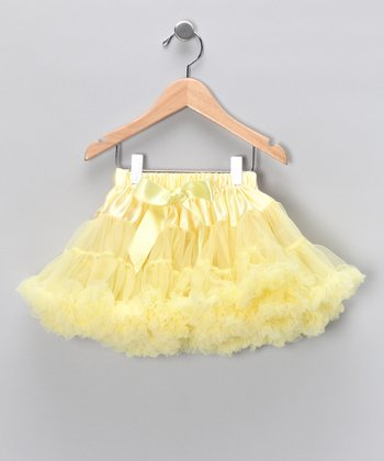 Sunshine Satin Pettiskirt - Toddler & Girls