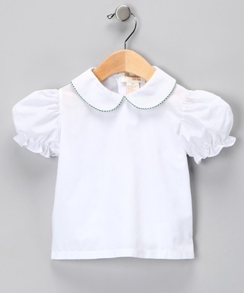 White Blouse - Infant & Girls